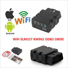 KW902 ELM327 WiFi OBD2 II Car Diagnostic Scanner Code Reader For iPhone Android