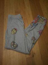 MARVEL COMICS AVENGERS PRINT  fleece lined leggings GIRLS 7/8 NWOT