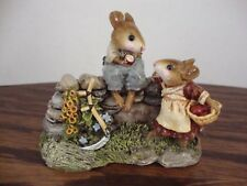 Wee Forest Folk Wayside Chat FS7, Forget Me Knot PM6