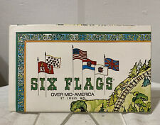1974 Six Flags Over Mid-America St Louis Mo Amusement Park Map