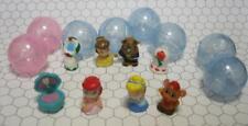 8 Squinkies Disney Princess CINDERELLA Belle Beast Rose Ariel Seashell Mirror