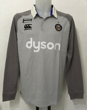 BATH RUGBY  L/S ALT CLASSIC JERSEY HIGHRISE GREY  BY CANTERBURY SIZE MEN'S LARGE