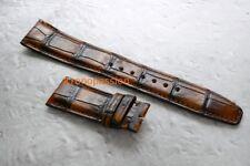 IWC Dark Brown Alligator Strap by Santoni 22/18mm for Portuguese 5032/5023 New !