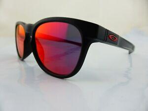 Oakley STRINGER Sunglasses Matte Black - Ruby Iridium Lenes 9315-09