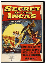 Secret of the Incas 1954 DVD Charlton Heston: Movie that inspired Indiana Jones