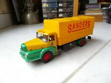 UNIC ZU Sanders 1962 Camion d'autrefois 1/43 Ixo Altaya