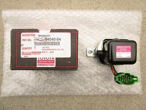 FITS: 79 - 81 TOYOTA PICKUP 2.2L 12V VOLTAGE IC REGULATOR OEM BRAND NEW