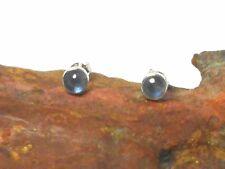 KYANITE   Sterling  Silver  925  Gemstone  Earrings / STUDS  -  5 mm