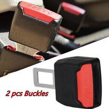 """2 pcs 7/8"""" Seatbelt Buckle Car Seat Seatbelt Safety Extender Belt Extension Kit"""