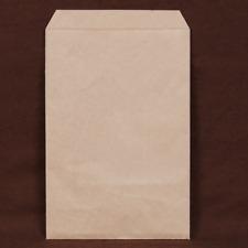 "200 pcs Brown Kraft Paper Merchandise Gift Bags Shopping Sales Tote Bags 6""x9"""