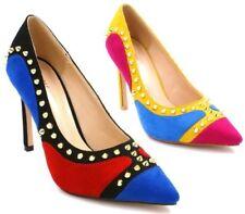 Scarpe da donna spillo multicolore con tacco alto (8-11 cm)