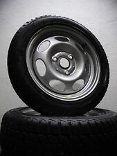 "4 pneumatici invernali 155/60 -175/55 r15 incl. SMART FOR TWO 451 15"" Acciaio Cerchioni"