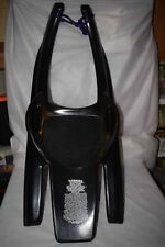 Coop Laser Luge High Speed Controlable Snow Sled Model HTF GUC Black Plastic