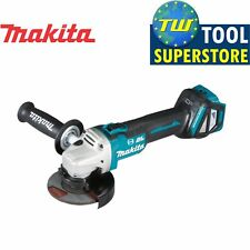 "Makita DGA463Z 18V LXT Gen 2 Brushless Angle Grinder 115mm 4.5"" – Body Only"