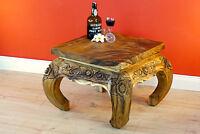 Couchtisch Holz Holztisch Massivholz Wohnzimmertisch Sofa Tisch Thai Möbel Suar