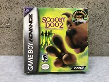 NEW Nintendo Gameboy Advance Scooby Doo 2 Monsters Unleashed Video Game SEALED