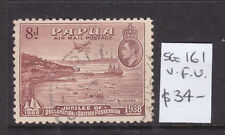 PAPUA: 8d  BROWN  50TH ANN OF BRITISH PROSSESSION  SG 161  V.F.U.