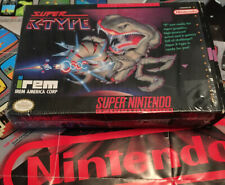 Super R-Type SNES Super Nintendo, Tested And Working! Box In Great Shape! Look!!