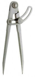 Spitzzirkel mit Stellbogen DIN 6486, 300 mm
