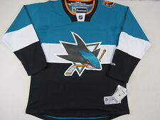 New! Reebok San Jose Sharks Stadium Series NHL Hockey Player Game Jersey Mens L