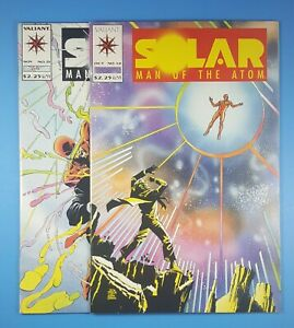 Solar Man of the Atom #14 & 15 Set Lot First Appearance of Doctor Eclipse 1992