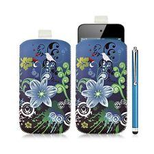 Housse coque étui pochette pour Apple Ipod Touch 4G avec motif HF09 + Stylet lux