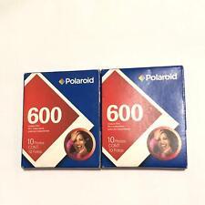 POLAROID 600 Instant Film - 2 packs - 07 / 2009 expired unopened new