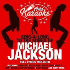 KARAOKE - MICHAEL JACKSON KARAOKE [AVID] USED - VERY GOOD CD