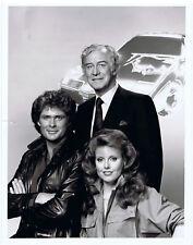 "NBC Press Photo 9"" x 7"" KNIGHT RIDER David Hasselhoff Rebecca Holden 1983"