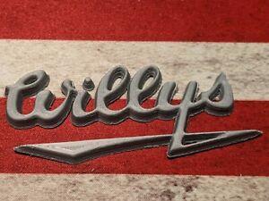 Willys Script Bage Emblem