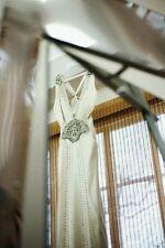 Stunning Jenny Packham Carmen Wedding Dress Oyster/Champagne