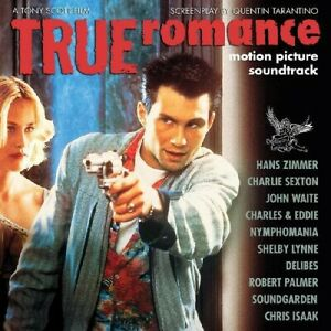 "True Romance--Motion Picture Soundtrack (Blue with Magenta Splatter ""Alabama Wor"