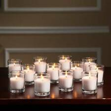 72/Lot Clear Glass Candle Holder Votive Cup Tea Light Wedding Party Event Decor