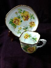 ROYAL STAFFORD ENGLISH BONE CHINA  TEA CUP & SAUCER MADE IN ENGLAND