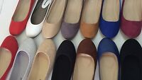 New women basic round toe  ballet flats slip on loafer shoes all colors on sale