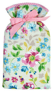 Floral Linen Texture Padded 2.0L Hot Water Bottle