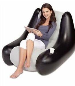 BNIB Bestway Inflatable Gaming Chair Flock Game Seat