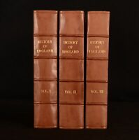 1808 3vol The History of England From the Earliest Dawn G C Lyttleton Illus
