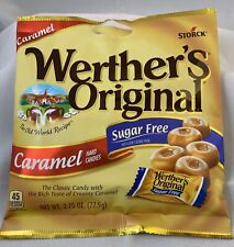 WERTHER'S ORIGINAL Sugar Free Caramel Hard Candy, 2.75 Oz