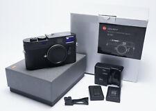[MINT+ NEWEST SENSOR] Leica M M9-P Black 2 Batteries 18.0MP Digital Camera