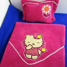 Puppenbettwäsche für Puppenwagen und Bettchen Wendebettwäsche -Katze-
