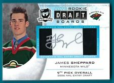 James Sheppard - 2008-09 The Cup Auto Draft Boards #DBSH