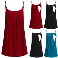 Plus Size Women Maternity Nursing Tank Tops Ladies Loose Blouse Summer T-Shirt