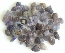 100 CT SCOOP NATURAL TANZANITE GEMS LOOSE RAW ROUGH LOT MINERAL BLUE WHOLESALE