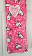 """New ListingNwt Happy Valentine's Day Frenchie French Bulldog Dog Throw Blanket 50""""x60"""""""