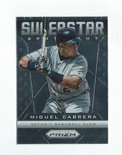 2013 Panini Prizm Superstar Spotlight #14 Miguel Cabrera Tigers