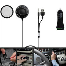 AUTO Caricabatterie USB 2 Bluetooth Wireless Vivavoce Carica mobile base magnetica