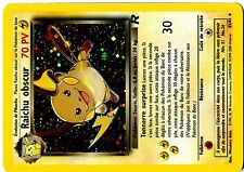 POKEMON TEAM ROCKET HOLO FR N° 83/82 RAICHU OBSCUR