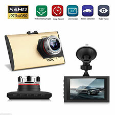 "3"" Lcd/Fhd 1080P Digital Car Vehicle Video Camcorder Night Vision Dashcam Gold"