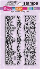 STAMPENDOUS Clear Stamps ELEGANT BORDERS Filligree Flourish Beautiful